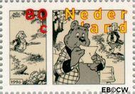 Nederland NL 1677b  1996 Strippostzegels Heer Bommel 80 cent  Gestempeld