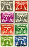 Nederland NL 169#176  1926 Vliegende Duif  cent  Gestempeld