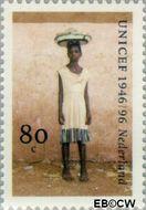 Nederland NL 1691  1996 UNICEF 80 cent  Gestempeld