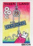 Nederland NL 1706  1997 Verhuiszegel 80 cent  Gestempeld