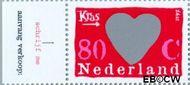 Nederland NL 1709a  1997 Kraszegels 80 cent  Postfris