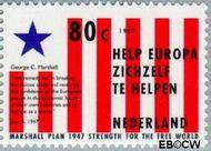 Nederland NL 1724  1997 Marshallhulp 80 cent  Gestempeld