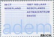 Nederland NL 1731  1997 Nederlands Astmacentrum 80 cent  Gestempeld