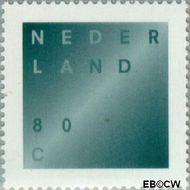 Nederland NL 1746  1998 Rouwzegel 80 cent  Gestempeld