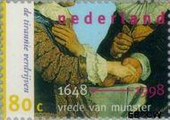 Nederland NL 1753  1998 Vrede van Munster 80 cent  Gestempeld