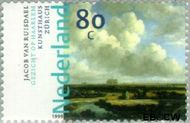 Nederland NL 1833  1999 Nederlandse kunst 17e eeuw 80 cent  Gestempeld