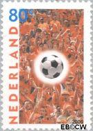 Nederland NL 1889  2000 EK voetbal 80 cent  Gestempeld