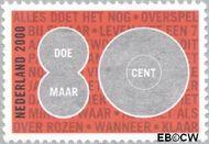 Nederland NL 1905  2000 Doe Maar 80 cent  Gestempeld