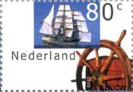 Nederland NL 1912  2000 Sail 2000 80 cent  Gestempeld