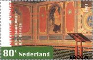 Nederland NL 1976  2001 Nieuwe kunst 80 cent  Gestempeld