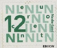 Nederland NL 2035  2002 Bijplakzegels 12 cent  Gestempeld