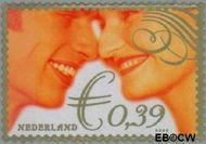 Nederland NL 2048#  2002 Huwelijkszegel  cent  Gestempeld