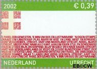 Nederland NL 2072  2002 Provincie- zegel Utrecht 39 cent  Postfris