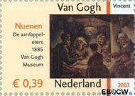 Nederland NL 2143  2003 Vincent van Gogh 39 cent  Gestempeld