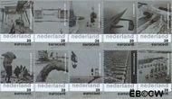 Nederland NL 2152#2161  2003 Nederland en het water  cent  Gestempeld