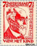 Nederland NL 222  1928 Lorentz, H.A. 7½+2½ cent  Gestempeld