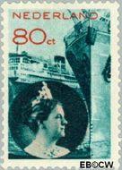 Nederland NL 237  1933 Handel en verkeer 80 cent  Gestempeld