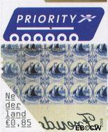Nederland NL 2412  2006 5 voor buiten Europa 85 cent  Gestempeld