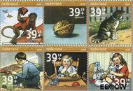 Nederland NL 2417#2422  2006 Leesplankje  cent  Gestempeld