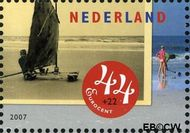 Nederland NL 2498c  2007 Strandpret toen en nu 44+22 cent  Gestempeld