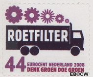 Nederland NL 2557  2008 Tien voor Nederland (Zuinig met energie) 44 cent  Gestempeld
