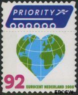 Nederland NL 2561  2008 Vijf voor Europa en Vijf voor de wereld 92 cent  Gestempeld
