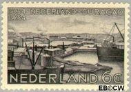 Nederland NL 267  1934 Nederlands bewind Curaçao 6 cent  Gestempeld