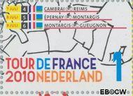 Nederland NL 2725  2010 Tour de France 1 cent  Gestempeld
