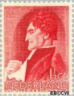 Nederland NL 274  1935 Bekende personen 1½+1½ cent  Gestempeld