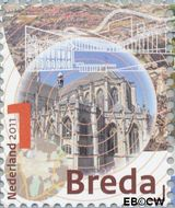 Nederland NL 2813a  2011 Mooi Nederland- Breda 1 cent  Gestempeld
