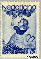 Nederland NL 282  1935 Appelplukkend meisje 12½+3½ cent  Gestempeld