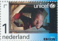 Nederland NL 2827  2011 UNICEF 65 jaar 1 cent  Gestempeld