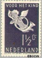 Nederland NL 289  1936 Bazuinengel 1½+1½ cent  Gestempeld