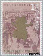 Nederland NL 2907  2012 Albert Heijn 125 jaar 1 cent  Gestempeld