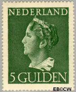 Nederland NL 348  1946 Wilhelmina- Type 'Konijnenburg' 500 cent  Gestempeld