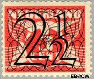 Nederland NL 356  1940 Cijfer type 'Guilloche' of ' tralie' 2½ cent  Gestempeld