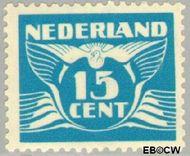 Nederland NL 384  1941 Vliegende Duif 15 cent  Gestempeld