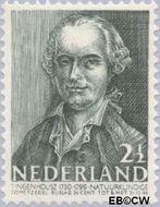 Nederland NL 393  1941 Bekende personen 2½+2½ cent  Gestempeld