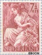 Nederland NL 452  1946 Nationale-hulpzegel 7½+15 cent  Gestempeld