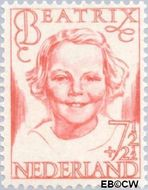 Nederland NL 458  1946 Prinsessen 7½+2½ cent  Postfris