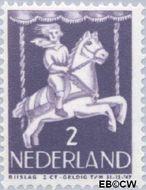 Nederland NL 469  1946 Kind in draaimolen 2+2 cent  Gestempeld