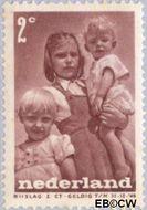 Nederland NL 495  1947 Levensstadia kind 2+2 cent  Gestempeld