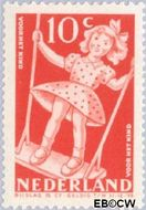 Nederland NL 511  1948 Sport en beweging 10+5 cent  Gestempeld