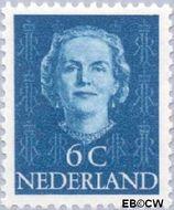 Nederland NL 519  1949 Koningin Juliana- Type 'En Face' 6 cent  Gestempeld