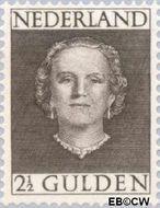 Nederland NL 535  1949 Koningin Juliana- Type 'En Face' 250 cent  Postfris