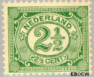 Nederland NL 55  1899 Cijfer type 'Vürtheim' 2½ cent  Gestempeld