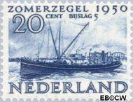 Nederland NL 555  1950 Wederopbouw 20+5 cent  Gestempeld