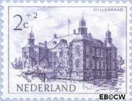 Nederland NL 568  1951 Kastelen 2+2 cent  Postfris