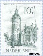 Nederland NL 571  1951 Kastelen 10+5 cent  Gestempeld