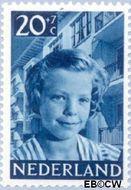 Nederland NL 577  1951 Foto's van kinderen 20+7 cent  Postfris